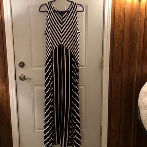 Lane Bryant maxi dress. Like new.